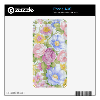 Bouquet iPhone 4S Decals