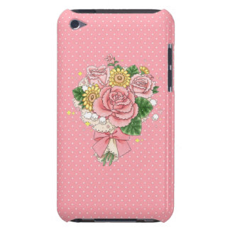 Bouquet iPod Touch case (pink)
