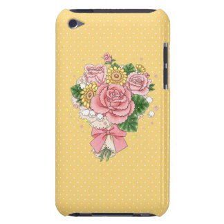 Bouquet iPod Touch case (yellow)