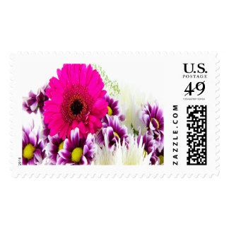 Bouquet Large Postage Stamps