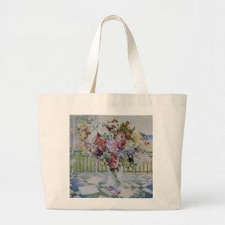 Bouquet Large Tote Bag