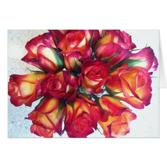 Bouquet Notecards Card