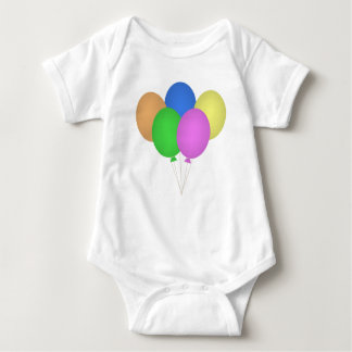 Bouquet of Balloons Child's Clothing Baby Bodysuit