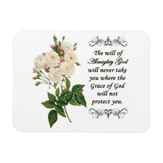 Bouquet of Beautiful White Roses Flexi Magnet