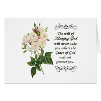 Bouquet of Beautiful White Roses Notecard Greeting Card