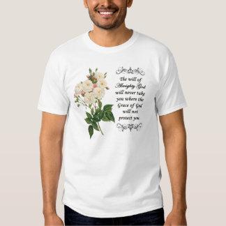 Bouquet of Beautiful White Roses Shirt