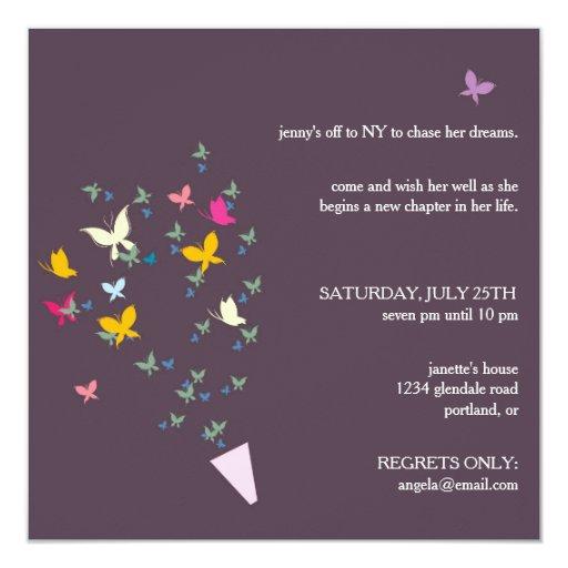 Farewell Invitation Card Design as luxury invitation template