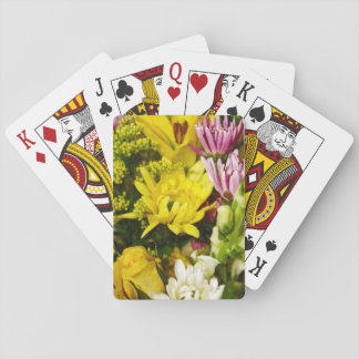 Bouquet Of Cheer Painterly Poker Cards