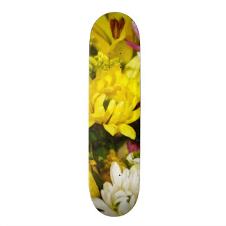 Bouquet Of Cheer Painterly Skateboard