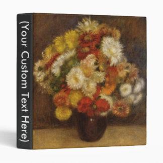 Bouquet of Chrysanthemums Binder