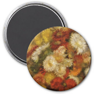 Bouquet of Chrysanthemums Refrigerator Magnet