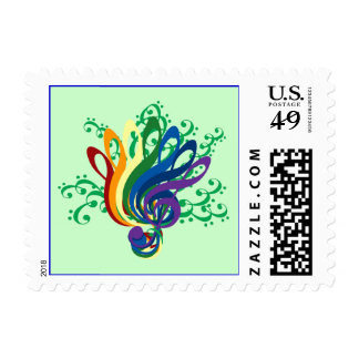 Bouquet of Clefs Postage