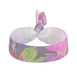 Bouquet of Colors Abstract Art Design Hair Tie 69104e173df