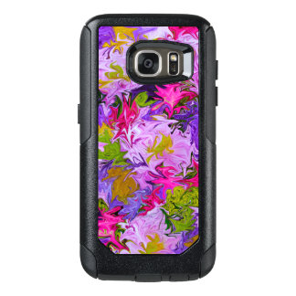 Bouquet of Colors Floral Abstract Art Design OtterBox Samsung Galaxy S7 Case