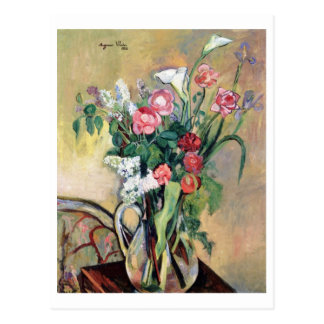 Bouquet of Flowers by Suzanne Valadon Postcard