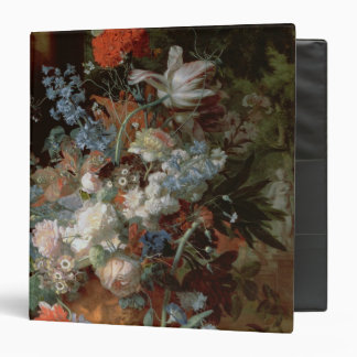 Bouquet of Flowers in a Landscape Binder