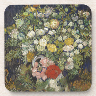 Bouquet of Flowers in a Vase Coaster