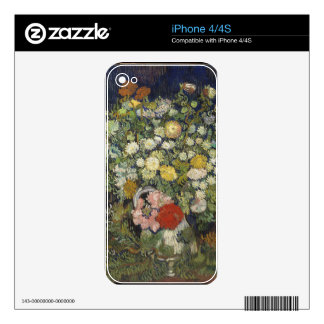Bouquet of Flowers in a Vase iPhone 4S Skin