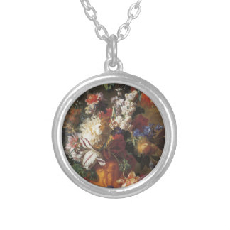 Bouquet of Flowers in an Urn Necklaces