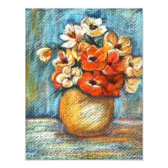 Bouquet of Flowers Invitation