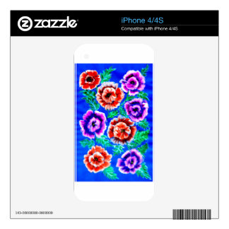 Bouquet of Flowers iPhone 4 Skin