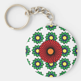 Bouquet of Flowers Key Chain