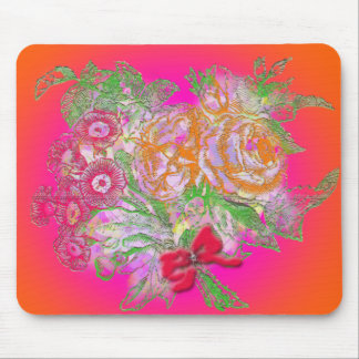 Bouquet of flowers mouse pad