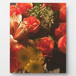 Bouquet of Flowers Plaque