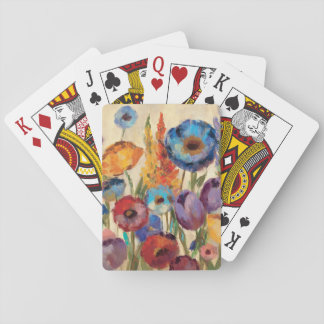 Bouquet of Flowers Playing Cards