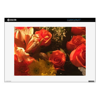 """Bouquet of Flowers Skin For 15"""" Laptop"""