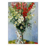 Bouquet of Gadiolas Greeting Card