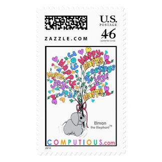 BOUQUET OF GOOD WISHES Postage