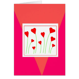 Bouquet of Hearts Card
