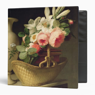 Bouquet of Lilies and Roses in a Basket, 1814 Binder