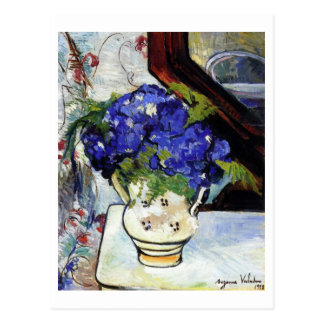 Bouquet of Parma Violets by Suzanne Valadon Postcard