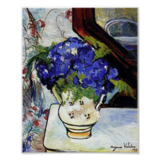 Bouquet of Parma Violets by Suzanne Valadon Poster