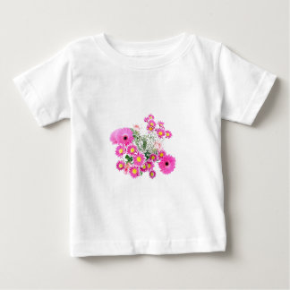 Bouquet of Pink Flowers Baby T-Shirt