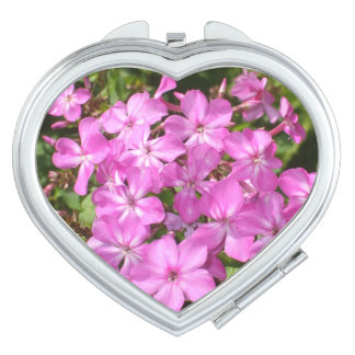 Bouquet of  Pink Flowers Makeup Mirror