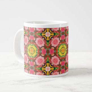 Bouquet of Pink Roses Jumbo Mugs