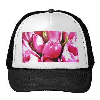 Bouquet Of Pink Tulips Hat