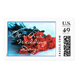 Bouquet of Roses (1), It's Our Wedding Day! Stamps