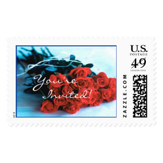 Bouquet of Roses (1), You're Invited! Postage