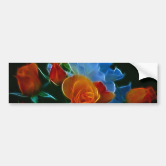 Bouquet of roses and meaning bumper stickers