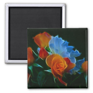 Bouquet of roses and meaning magnet