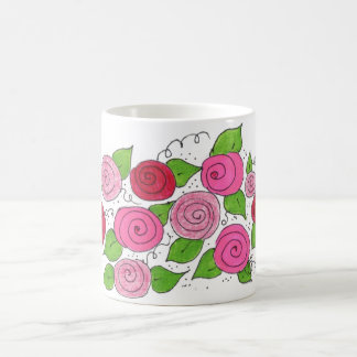 Bouquet of Roses Coffee Mug