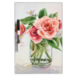 Bouquet of roses dry erase whiteboards