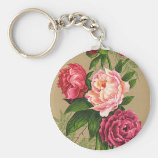 Bouquet Of Roses Key Chain