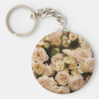 Bouquet of  Roses Keychain