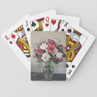 Bouquet Of Roses Playing Cards