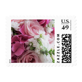 Bouquet of Roses Postage Stamp